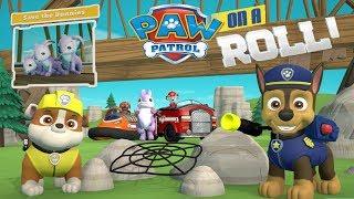 Paw Patrol on a Roll прохождение #3 Щенячий Патруль Крепыш и Гонщик спасают Кроликов