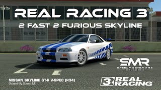 Real Racing 3 How To Customize Your Skyline Like The 2 Fast 2 Furious Skyline Of Paul Walker RR3