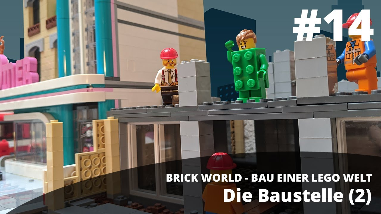 brick world lego update 14 • die baustelle 2  youtube