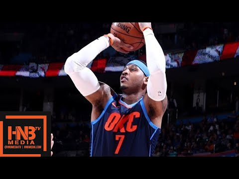 Oklahoma City Thunder vs Dallas Mavericks Full Game Highlights / Dec 31 / 2017-18 NBA Season