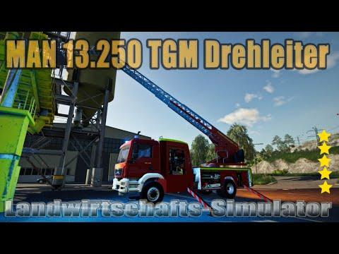 LS19 Modvorstellung  : MAN TGM LADDER V1.0 Ls19 Mods