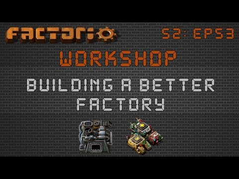 Clrmin's Smart Smelter Setup :: Factorio Workshop Season 2 - Building A Better Factory