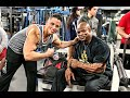 Training With My Idol - Ronnie Coleman video