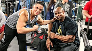 Training With My Idol - Ronnie Coleman