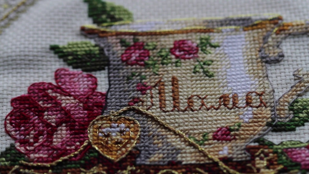 вышивальные наборы фирмы l y cross stitch