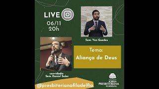 LIVE | ALIANÇA DIVINA | COM SEMINARISTA DANIEL SALES