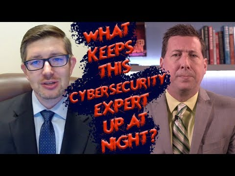 What keeps expert cybersecurity author Eric Vanderburg up at night?