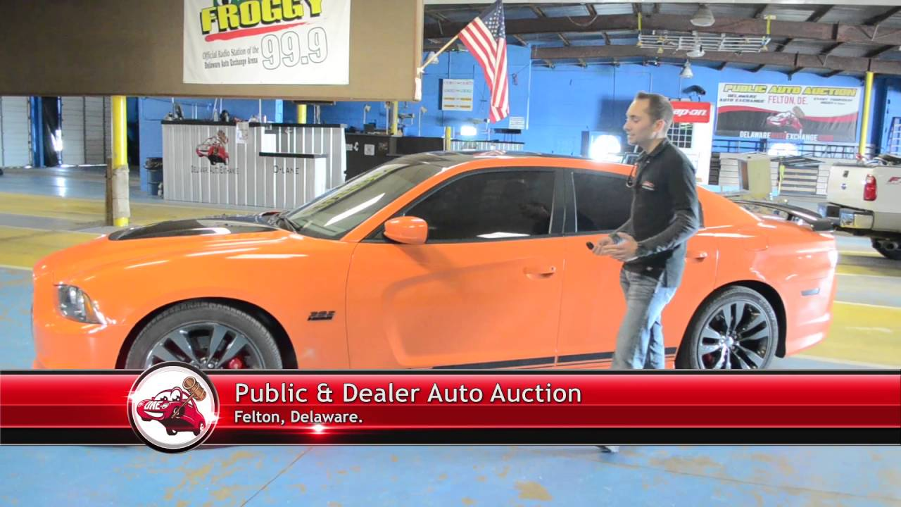 Delaware Auto Auction >> Repo Alert Dodge Charger Up For Auction