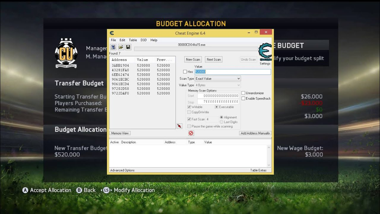 How To Hack Fifa 15 Career Mode Endless Money Youtube