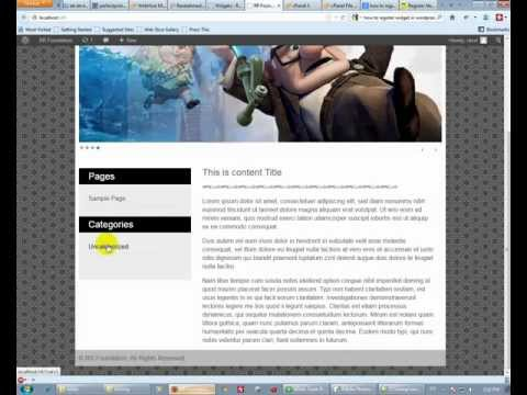 Wordpress Theme Development Tutorial