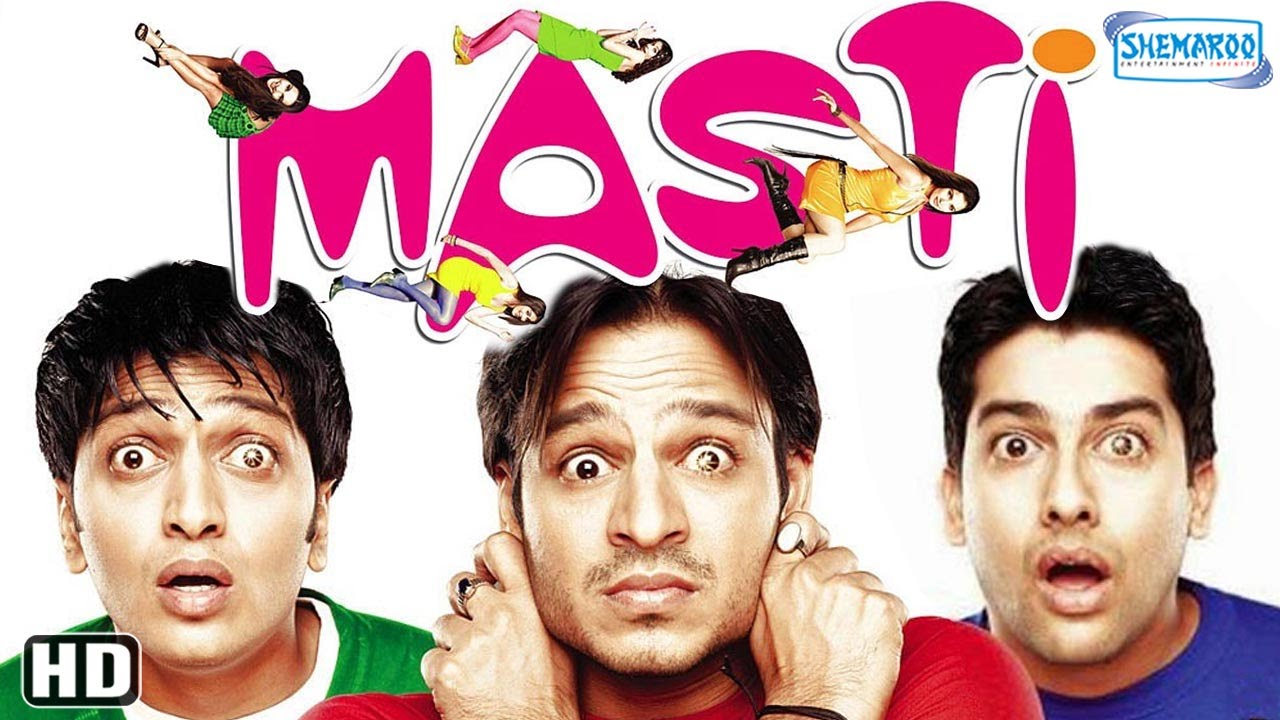 Download Masti (2004) (HD) - Vivek Oberoi - Riteish Deshmukh - Aftab Shivdasani - Hindi Comedy Movies