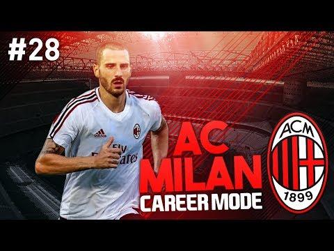 IT'S CRUNCH TIME! AC MILAN CAREER MODE #28 (FIFA 17)
