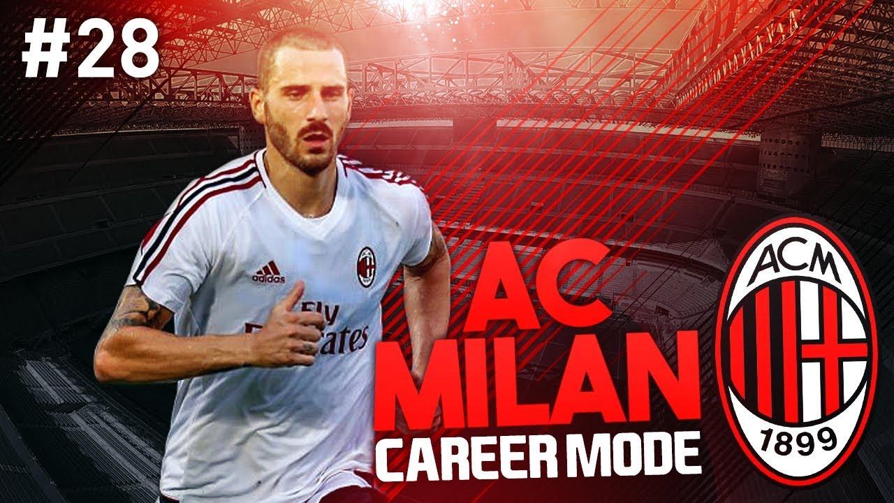 It 39 s crunch time ac milan career mode 28 fifa 17 youtube for Fifa 17 milan