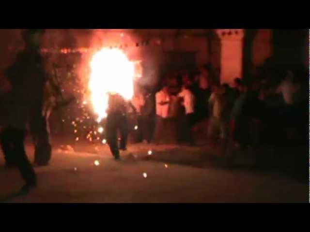 FIESTA DE STA. MA. TOTOLAPILLA (fuegos pirotecnicos)