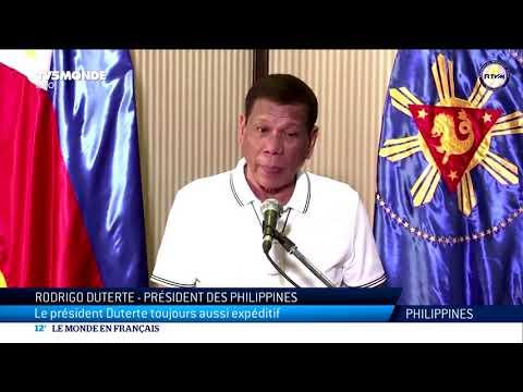 Coronavirus aux Philippines: Duterte veut employer la manière forte