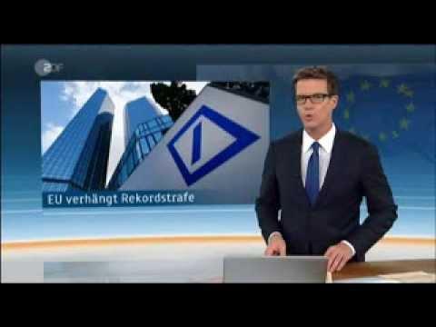 725 Millionen Euro Strafe allein für die deutsche Bank - (wird mal eben aus der Portokasse bezahlt)
