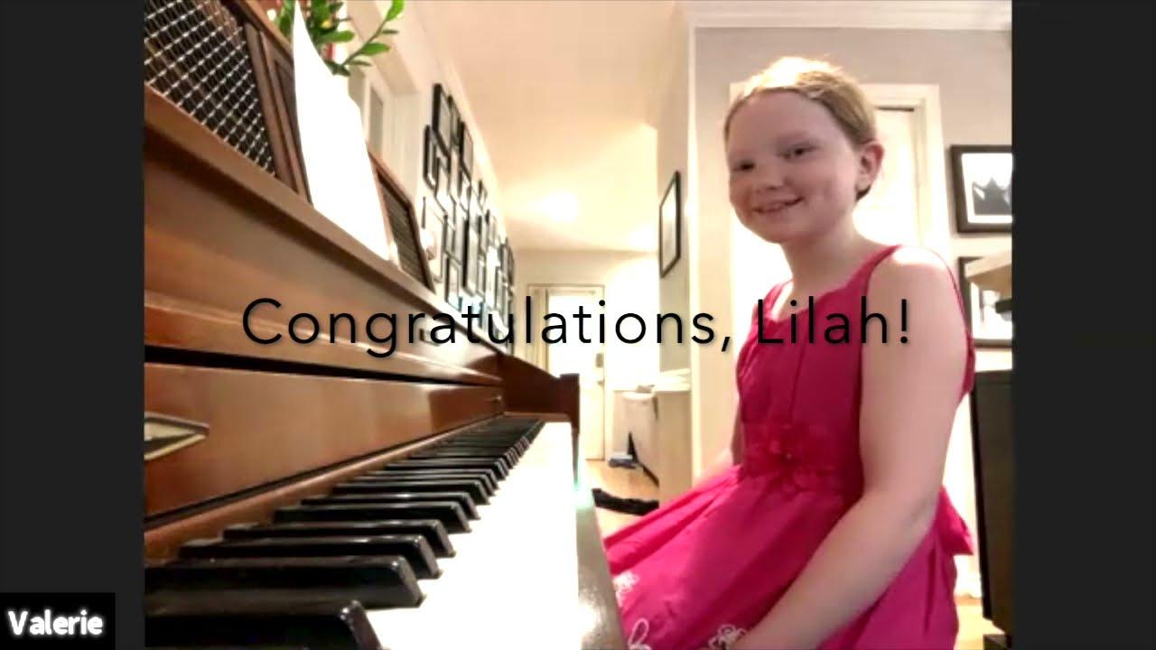Lilah's Suzuki Book 1 Graduation Recital