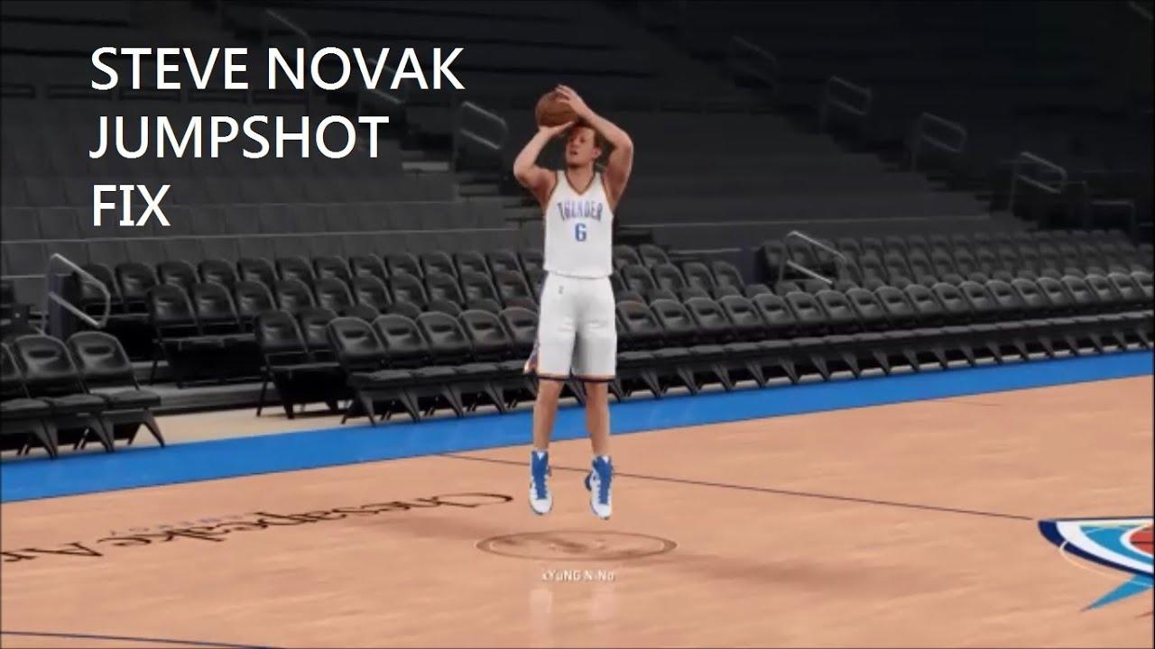 Steve Novak Shooting Form