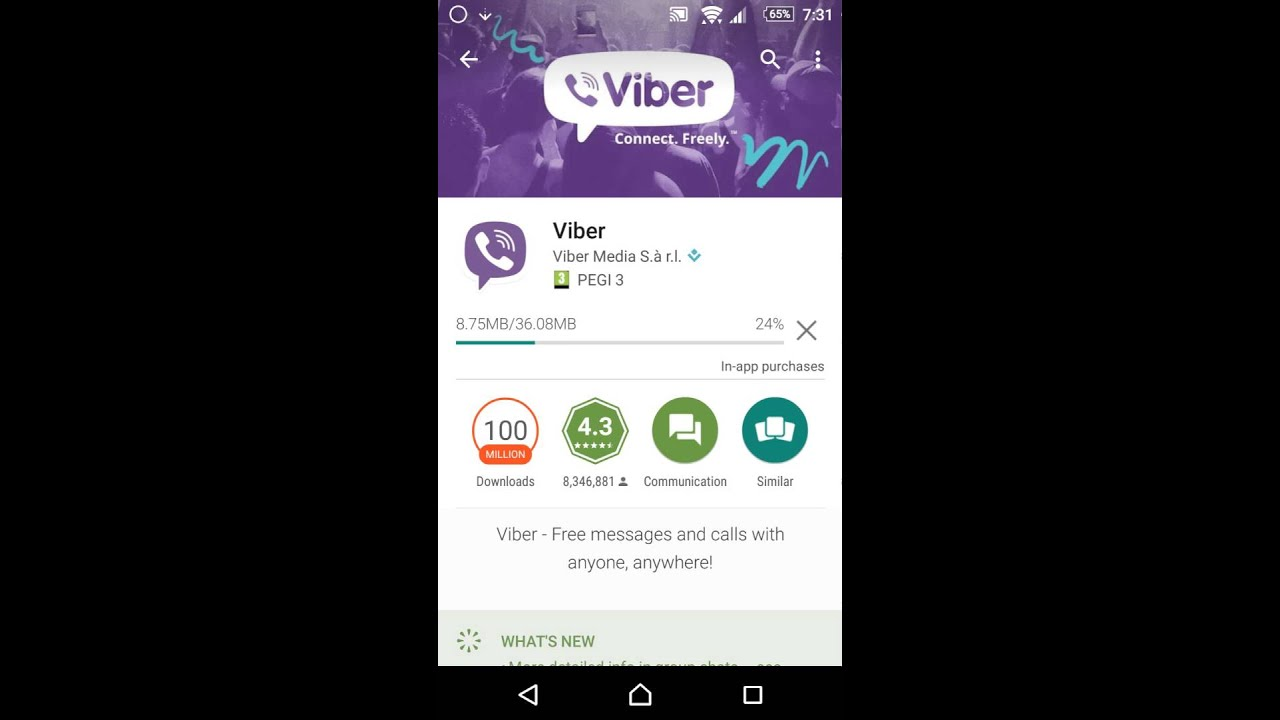 Viber free download for sony ericsson xperia mini.
