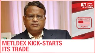 India's 1st Real-Time Base Metal Index - METLDEX, kick-starts its trade | MCX CEO PS Reddy To ET Now