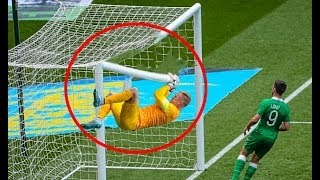 Football Crossbar Crazy moments ● HD