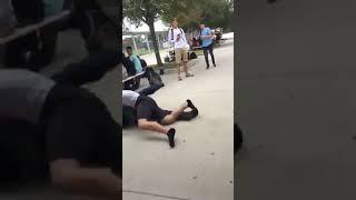 Cheap shot fight