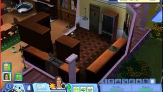 Давай играть в Sims 3 времена года #3 Много баллов счастья!