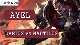 itz ayel darius vs nautilus top   lol br pro replays