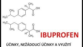 Ibuprofen - účinky, nežádoucí účinky, využití