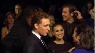 Chris Hemsworth, Tom Hiddleston Talk Brotherhood at Thor World Premiere