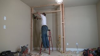 How to Build a Closet Frame / Bedroom Closet. Строим кладовку
