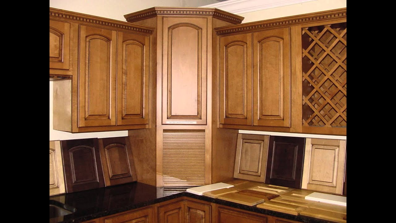 Amazing Corner Kitchen Cabinets Design Part - 7: Small Corner Kitchen Cabinet Pantry Design - YouTube
