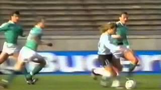 Germany v Argentina 2nd APR 1988