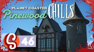 🌲 Haunted House (Part 1) | Pinewood Hills | Let's Play Planet Coaster #46