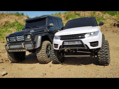 ГЕЛИК почти наказал Range Rover Sport, но .....   Сравнительный тест на бездорожье! Traxxas G500