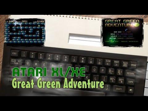 Atari XL/XE -=Great Green Adventure=-