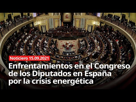NOTICIERO 15/09/2021 - Crisis energética en España
