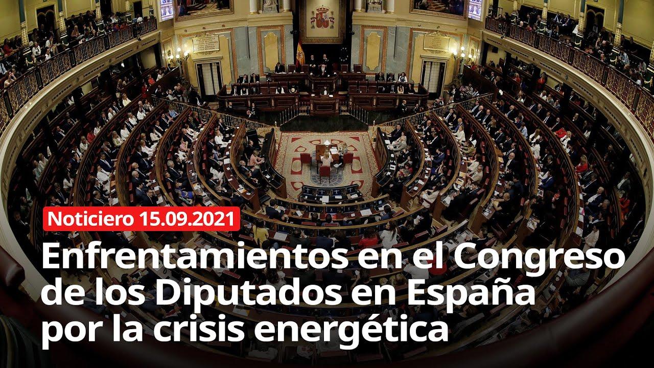 Download NOTICIERO 15/09/2021 -  Crisis energética en España