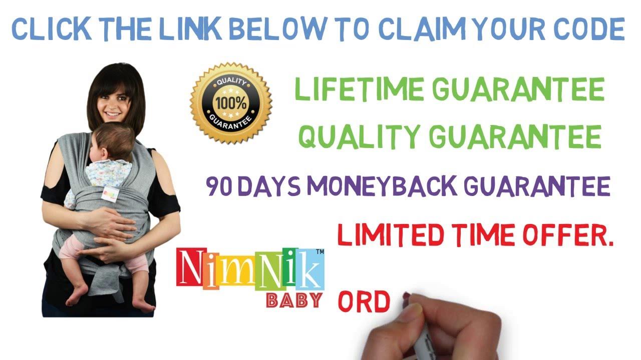 Nimnik Baby Wraps On Amazon
