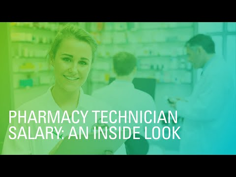 Pharmacy Technician How Much Do They Make Per Year