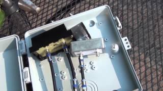 TV Amplifier Box for Kitztech KT-200-Coax Low Noise Amplifier (0.5dB)