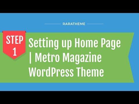 WordPress metro magazine theme