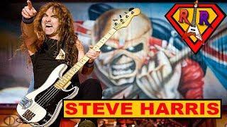 STEVE HARRIS o chefão do IRON MAIDEN | Rock Hero #1