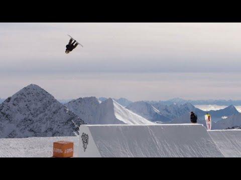 AFP news agency: Snowboarder Anna Gasser, first woman to land a