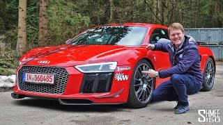 802hp MTM Supercharged R8 V10 - Hold on Tight! | TEST DRIVE
