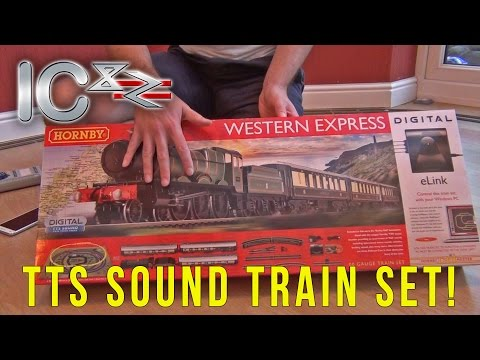 Opening the Western Express TTS Sound Hornby Train Set