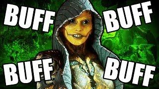 Mortal Kombat 11 - D'Vorah Buffs are TERRIFYING!! / Видео