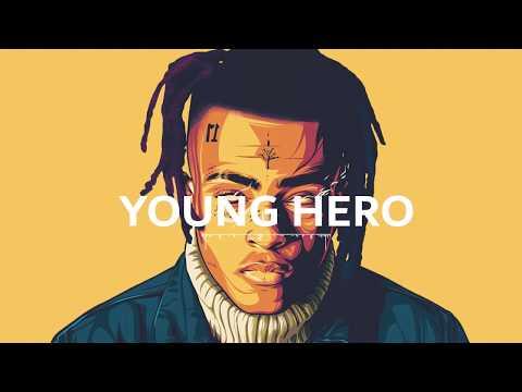 "Xxxtentacion x Post Malone - ""YOUNG HERO"" | Trap Hiphop Beat"