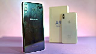 "Samsung Galaxy A9 Star (A8 Star) ""iPhone X Style Camera"" - Unboxing & First Look!"