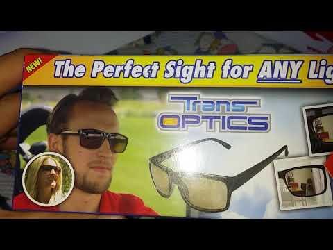 Unboxing Trans Optics sunglasses